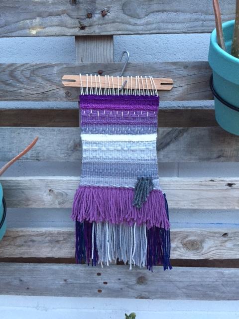 Purple Pint - Mon Weaving